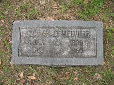 MELVILLE, LEEMAN D - Jackson County, Arkansas | LEEMAN D MELVILLE - Arkansas Gravestone Photos