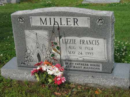 MILLER, LIZZIE FRANCIS - Jackson County, Arkansas | LIZZIE FRANCIS MILLER - Arkansas Gravestone Photos
