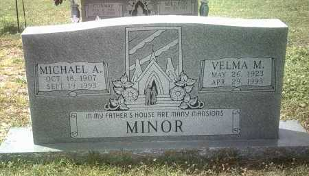 MINOR, MICHAEL A - Jackson County, Arkansas | MICHAEL A MINOR - Arkansas Gravestone Photos