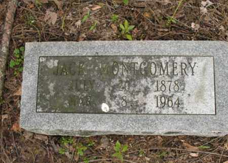 MONTGOMERY, JACK - Jackson County, Arkansas | JACK MONTGOMERY - Arkansas Gravestone Photos
