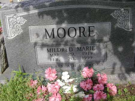 MOORE, MILDRED MARIE - Jackson County, Arkansas | MILDRED MARIE MOORE - Arkansas Gravestone Photos