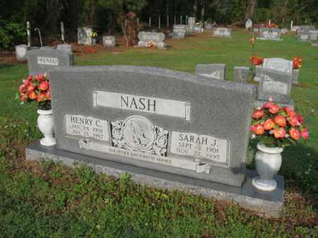 NASH, HENRY C - Jackson County, Arkansas | HENRY C NASH - Arkansas Gravestone Photos