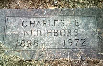 NEIGHBORS, CHARLES E - Jackson County, Arkansas | CHARLES E NEIGHBORS - Arkansas Gravestone Photos