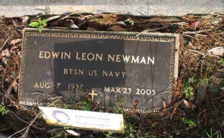 NEWMAN (VETERAN), EDWIN LEON - Jackson County, Arkansas | EDWIN LEON NEWMAN (VETERAN) - Arkansas Gravestone Photos