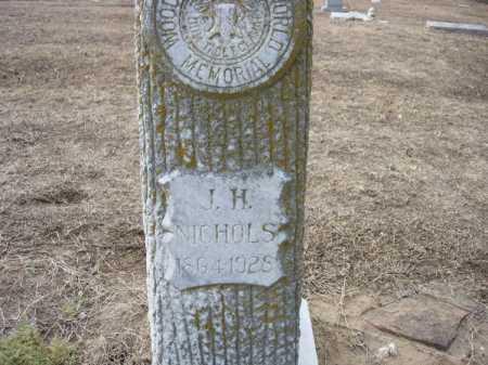 NICHOLS, JOHN HENRY - Jackson County, Arkansas | JOHN HENRY NICHOLS - Arkansas Gravestone Photos