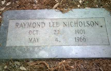 NICHOLSON, RAYMOND LEE - Jackson County, Arkansas | RAYMOND LEE NICHOLSON - Arkansas Gravestone Photos