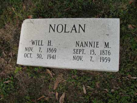 NOLAN, NANNIE M - Jackson County, Arkansas | NANNIE M NOLAN - Arkansas Gravestone Photos