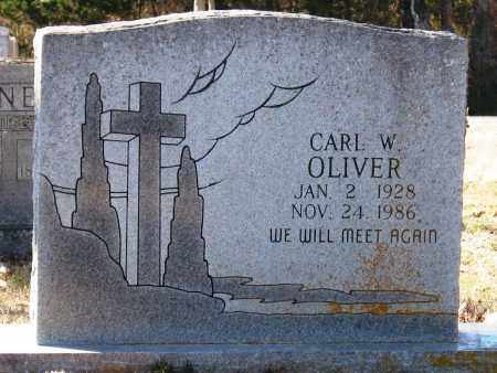 OLIVER, CARL W - Jackson County, Arkansas | CARL W OLIVER - Arkansas Gravestone Photos