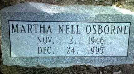 OSBORNE, MARTHA NELL - Jackson County, Arkansas | MARTHA NELL OSBORNE - Arkansas Gravestone Photos
