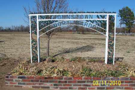 *JOHNSTOWN MEMORY GARDEN SIGN,  - Jackson County, Arkansas |  *JOHNSTOWN MEMORY GARDEN SIGN - Arkansas Gravestone Photos