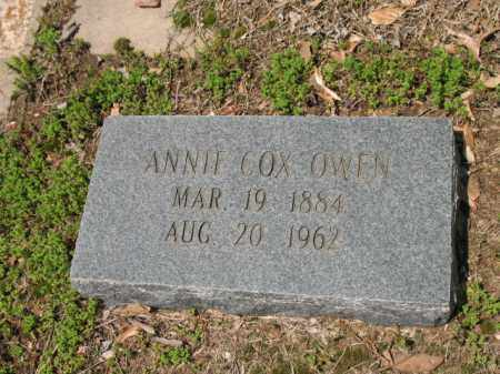 OWEN, ANNIE - Jackson County, Arkansas | ANNIE OWEN - Arkansas Gravestone Photos