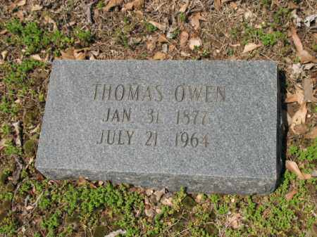 OWEN, THOMAS - Jackson County, Arkansas | THOMAS OWEN - Arkansas Gravestone Photos
