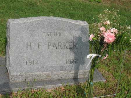 PARKER, H F - Jackson County, Arkansas | H F PARKER - Arkansas Gravestone Photos