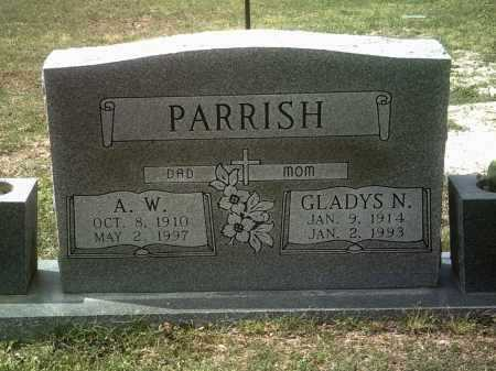PARRISH, GLADYS N - Jackson County, Arkansas | GLADYS N PARRISH - Arkansas Gravestone Photos