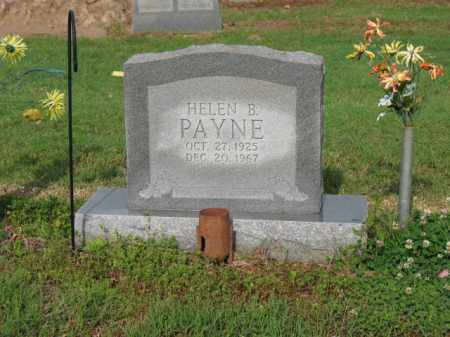 PAYNE, HELEN B - Jackson County, Arkansas | HELEN B PAYNE - Arkansas Gravestone Photos