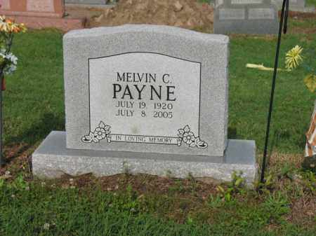 PAYNE, MELVIN C - Jackson County, Arkansas | MELVIN C PAYNE - Arkansas Gravestone Photos