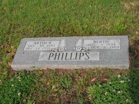 WILSON PHILLIPS, BERTIE - Jackson County, Arkansas | BERTIE WILSON PHILLIPS - Arkansas Gravestone Photos