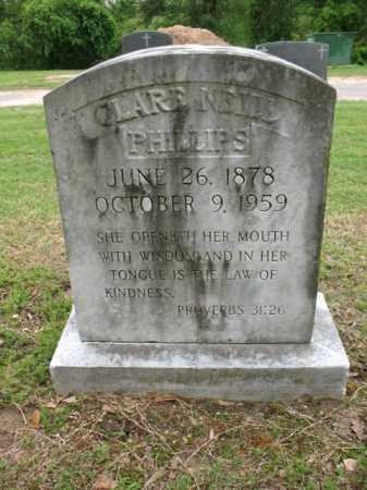 PHILLIPS, CLARE - Jackson County, Arkansas | CLARE PHILLIPS - Arkansas Gravestone Photos