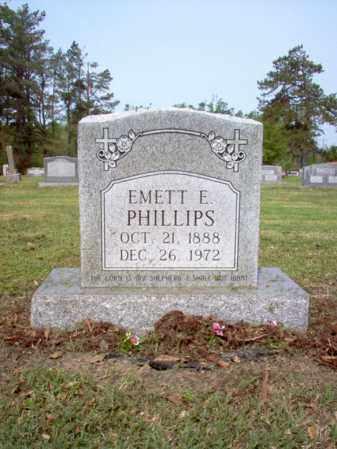 PHILLIPS, EMETT E - Jackson County, Arkansas | EMETT E PHILLIPS - Arkansas Gravestone Photos