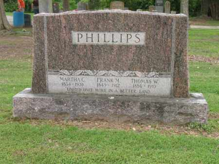 PHILLIPS, FRANK M - Jackson County, Arkansas | FRANK M PHILLIPS - Arkansas Gravestone Photos