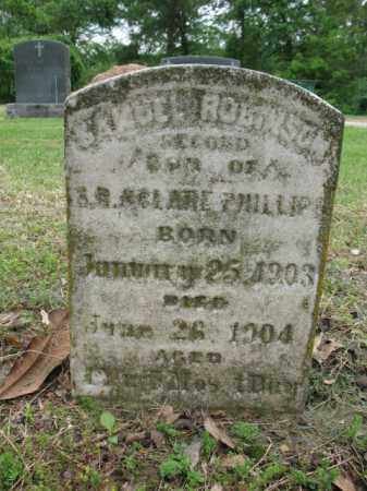 PHILLIPS, SAMUEL ROBINSON - Jackson County, Arkansas | SAMUEL ROBINSON PHILLIPS - Arkansas Gravestone Photos