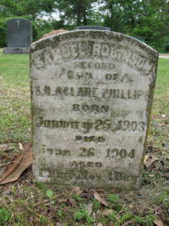 PHILLIPS, SAMUEL ROBINSON - Jackson County, Arkansas   SAMUEL ROBINSON PHILLIPS - Arkansas Gravestone Photos