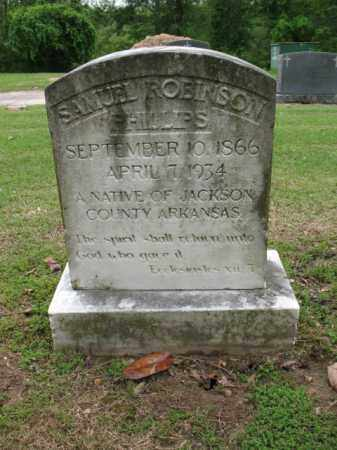 PHILLIPS, SAMUEL ROBINSON - Jackson County, Arkansas | SAMUEL ROBINSON PHILLIPS - Arkansas Gravestone Photos
