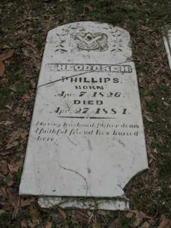 PHILLIPS, THEODORE H - Jackson County, Arkansas | THEODORE H PHILLIPS - Arkansas Gravestone Photos