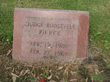 PIERCE, JUDGE ROOSEVELT - Jackson County, Arkansas | JUDGE ROOSEVELT PIERCE - Arkansas Gravestone Photos