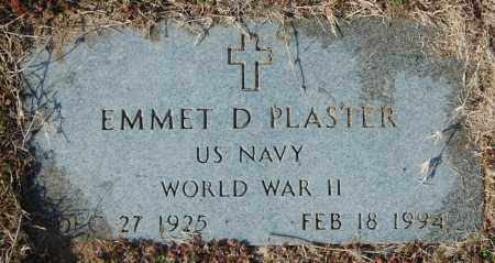 PLASTER (VETERAN WWII), EMMET D - Jackson County, Arkansas | EMMET D PLASTER (VETERAN WWII) - Arkansas Gravestone Photos