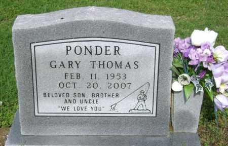 PONDER, GARY THOMAS - Jackson County, Arkansas | GARY THOMAS PONDER - Arkansas Gravestone Photos