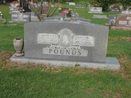 POUNDS, ERMA W - Jackson County, Arkansas | ERMA W POUNDS - Arkansas Gravestone Photos
