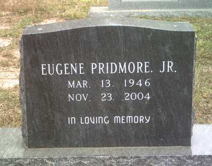PRIDMORE, JR, EUGENE - Jackson County, Arkansas | EUGENE PRIDMORE, JR - Arkansas Gravestone Photos