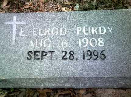PURDY, E ELROD - Jackson County, Arkansas | E ELROD PURDY - Arkansas Gravestone Photos