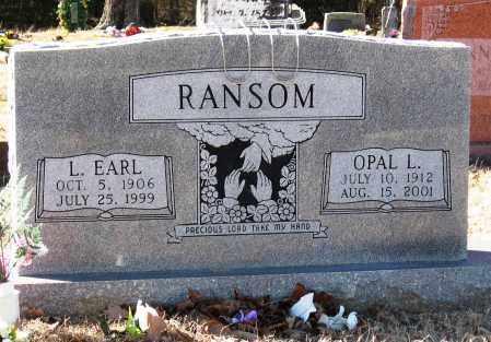 RANSOM, OPAL L - Jackson County, Arkansas | OPAL L RANSOM - Arkansas Gravestone Photos