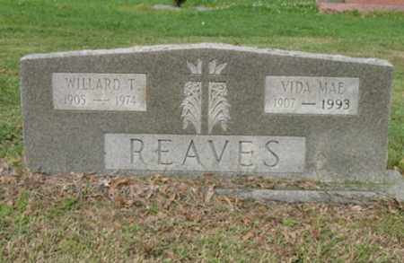 REAVES, VIDA MAE - Jackson County, Arkansas | VIDA MAE REAVES - Arkansas Gravestone Photos
