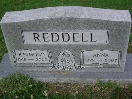 REDDELL, RAYMOND - Jackson County, Arkansas | RAYMOND REDDELL - Arkansas Gravestone Photos