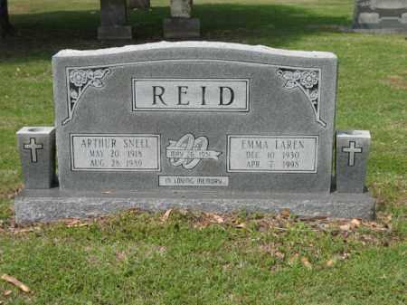 REID, ARTHUR SNELL - Jackson County, Arkansas | ARTHUR SNELL REID - Arkansas Gravestone Photos