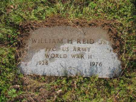 REID, JR (VETERAN WWII), WILLIAM H - Jackson County, Arkansas | WILLIAM H REID, JR (VETERAN WWII) - Arkansas Gravestone Photos