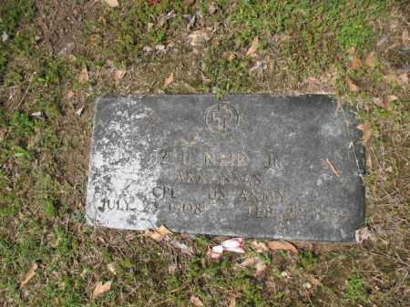 REID, JR (VETERAN), Z B - Jackson County, Arkansas | Z B REID, JR (VETERAN) - Arkansas Gravestone Photos