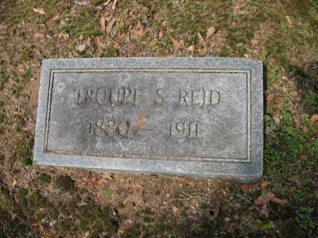 REID, TROUPE S - Jackson County, Arkansas | TROUPE S REID - Arkansas Gravestone Photos