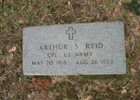 REID (VETERAN), ARTHUR SNELL - Jackson County, Arkansas | ARTHUR SNELL REID (VETERAN) - Arkansas Gravestone Photos