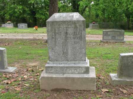 REVELL, DUKE - Jackson County, Arkansas   DUKE REVELL - Arkansas Gravestone Photos