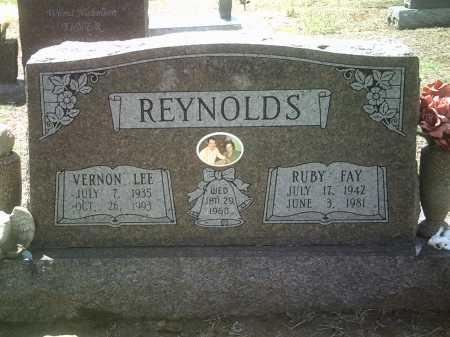REYNOLDS, VERNON LEE - Jackson County, Arkansas | VERNON LEE REYNOLDS - Arkansas Gravestone Photos