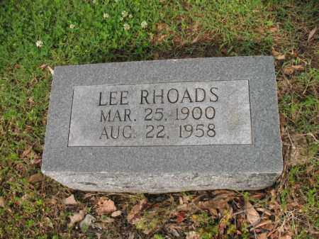 RHOADS, LEE - Jackson County, Arkansas | LEE RHOADS - Arkansas Gravestone Photos