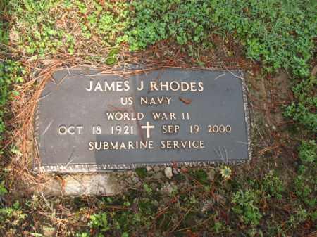 RHODES (VETERAN WWII), JAMES J - Jackson County, Arkansas | JAMES J RHODES (VETERAN WWII) - Arkansas Gravestone Photos