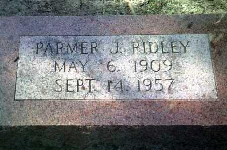 RIDLEY, PARMER J - Jackson County, Arkansas | PARMER J RIDLEY - Arkansas Gravestone Photos