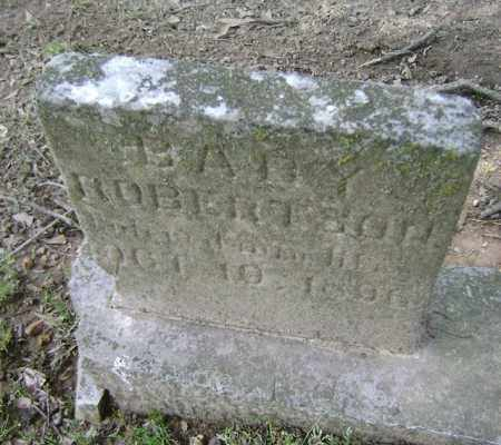 ROBERTSON, BABY - Jackson County, Arkansas | BABY ROBERTSON - Arkansas Gravestone Photos