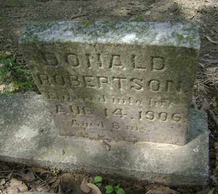 ROBERTSON, DONALD - Jackson County, Arkansas | DONALD ROBERTSON - Arkansas Gravestone Photos