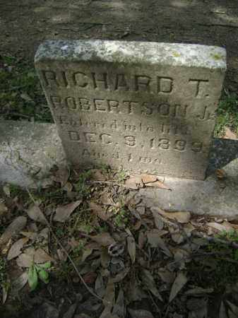 ROBERTSON, JR, RICHARD T - Jackson County, Arkansas | RICHARD T ROBERTSON, JR - Arkansas Gravestone Photos